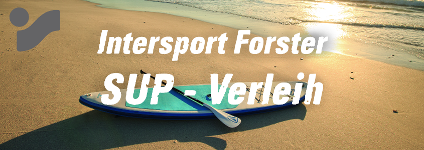 Stand-Up-Paddle Verleih bei INTERSPORT Forster