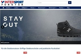 Online Shop neu INTERSPORT Forster