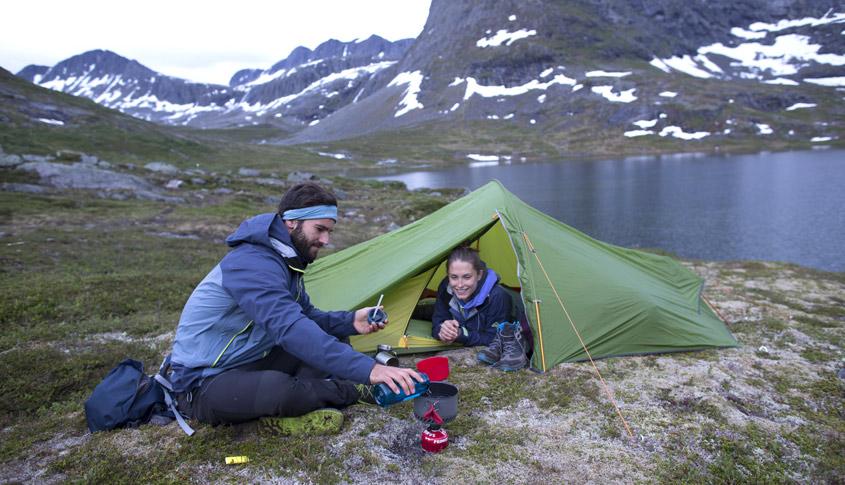 Wandern und Zelten
