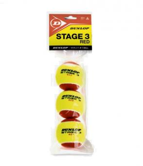 Dunlop DTB Stage 3 Tennisbälle -