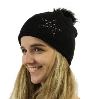 Eisbär Nadine OS Lux Crystal Mütze -