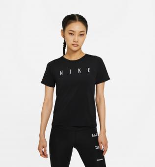 Nike Kurzarm-Laufshirt für Damen