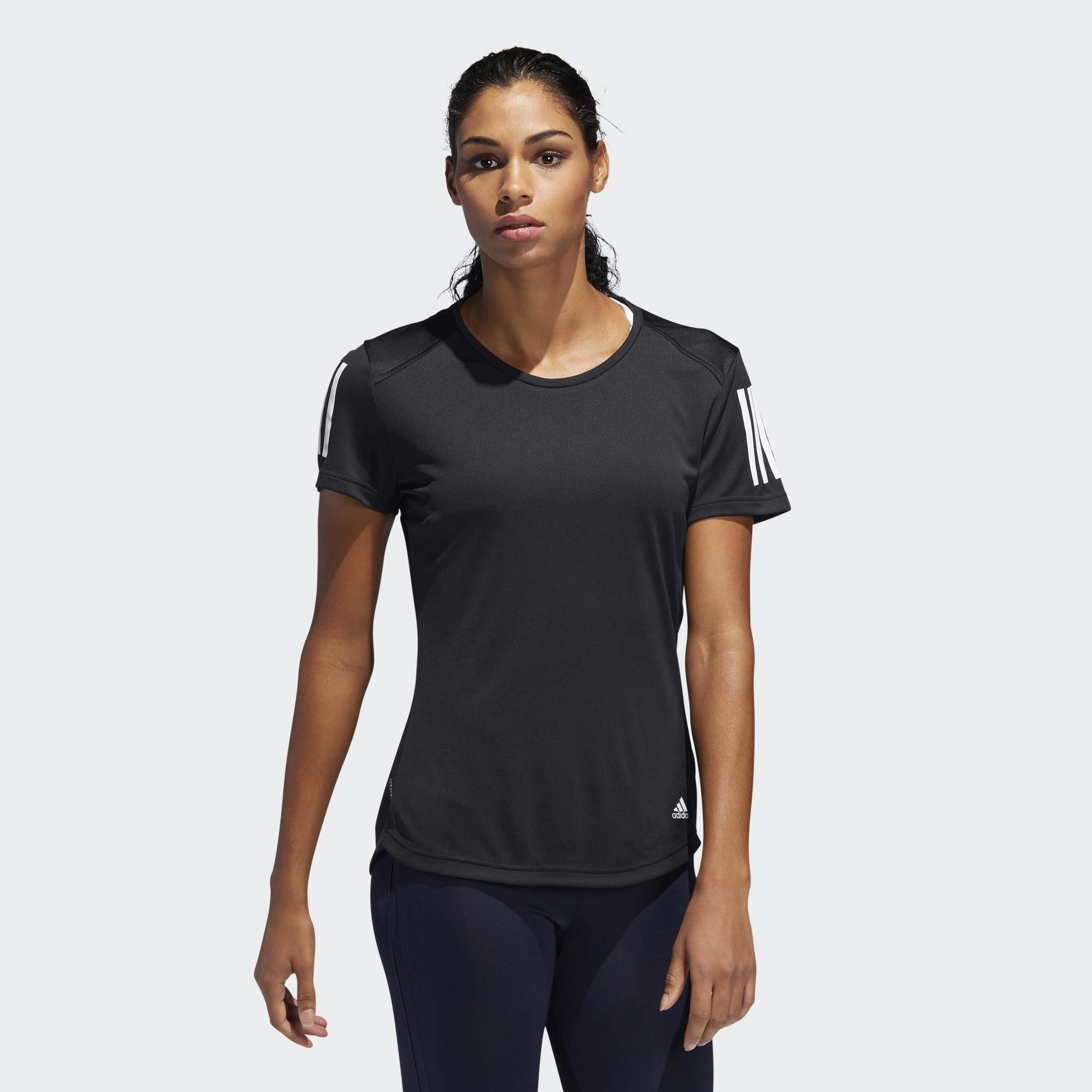 new list look for new concept adidas Own the run T-Shirt für Damen
