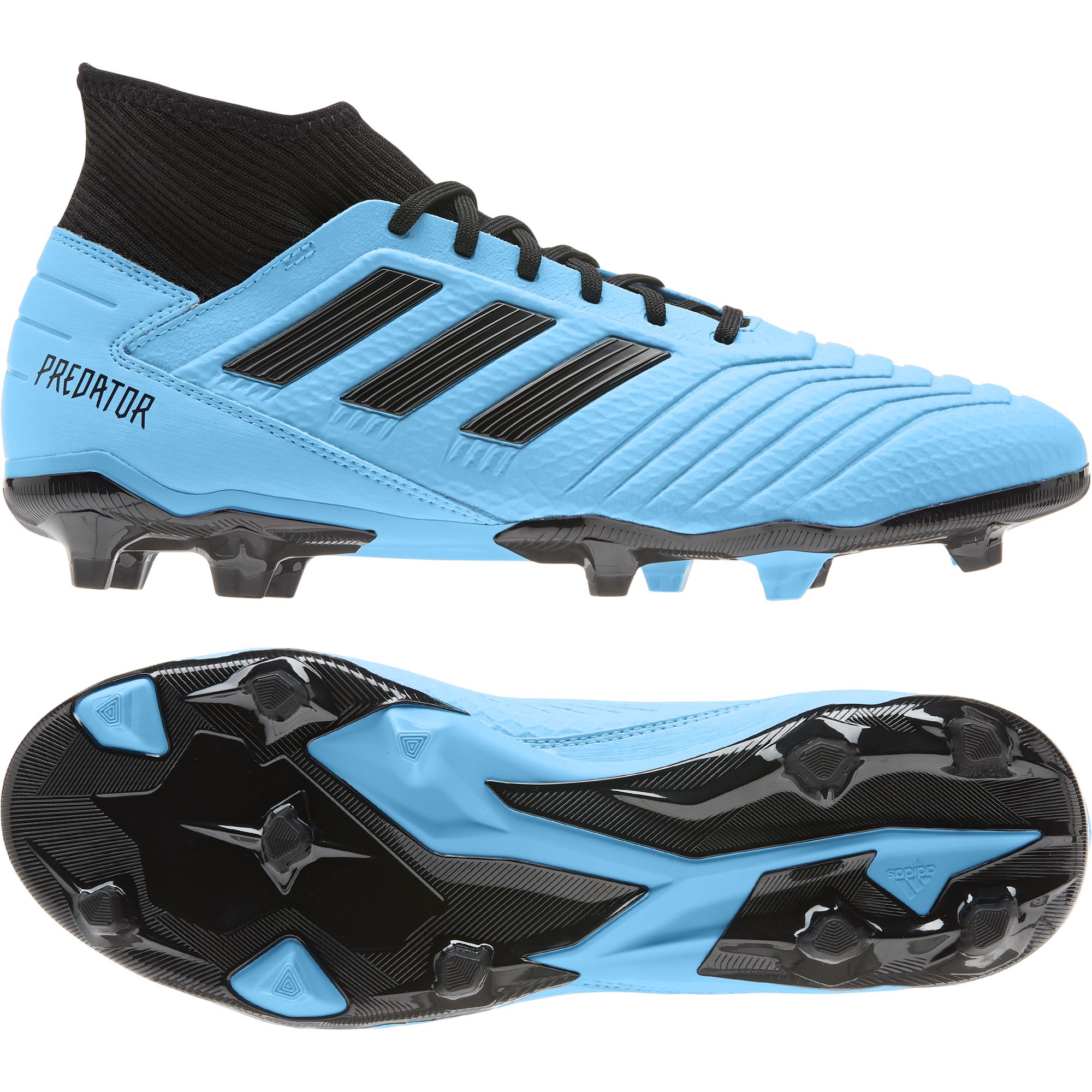 Adidas Predator 19.3 FG Fußballschuh Nocken mit Socke Rasen