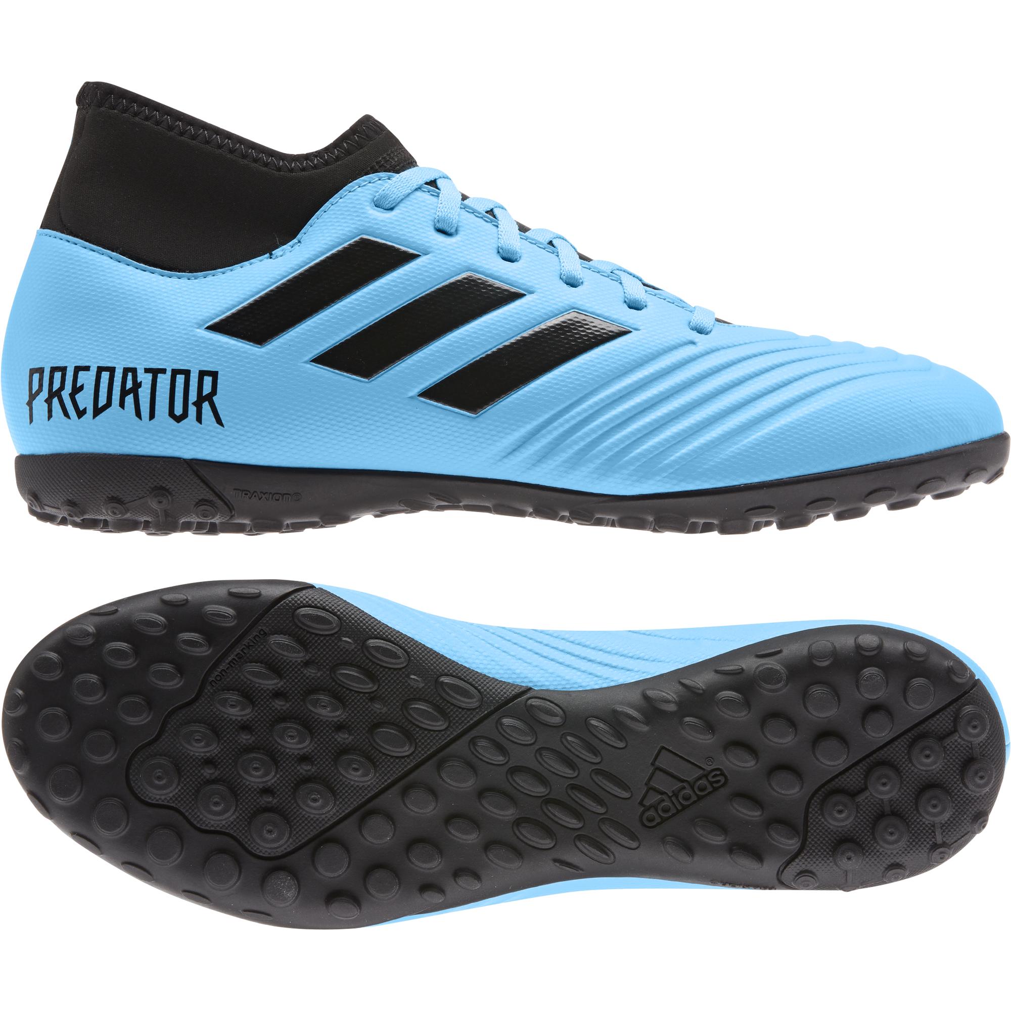 adidas Predator 19.4 Fußballschuhe Herren weiß blau im Online Shop von SportScheck kaufen