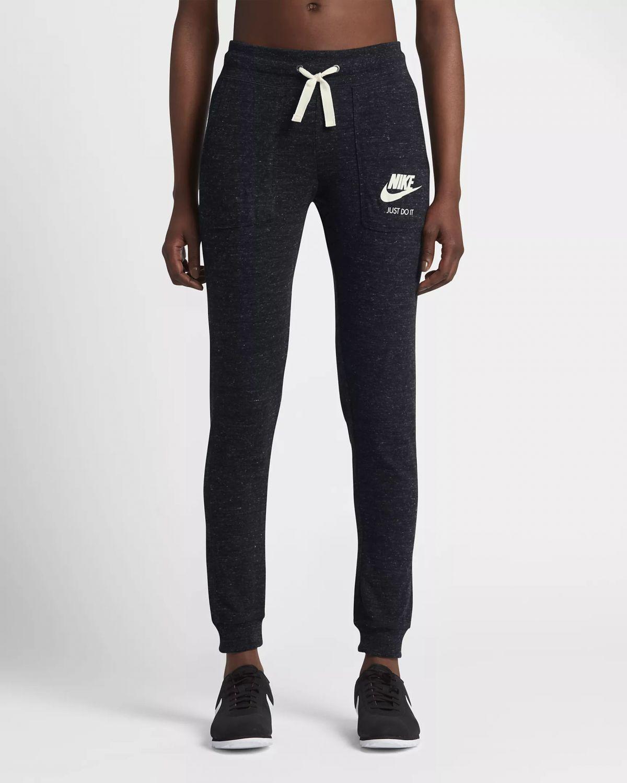 Nike Damen Gym Vintage Trainingshose, Dark RussetSail, M