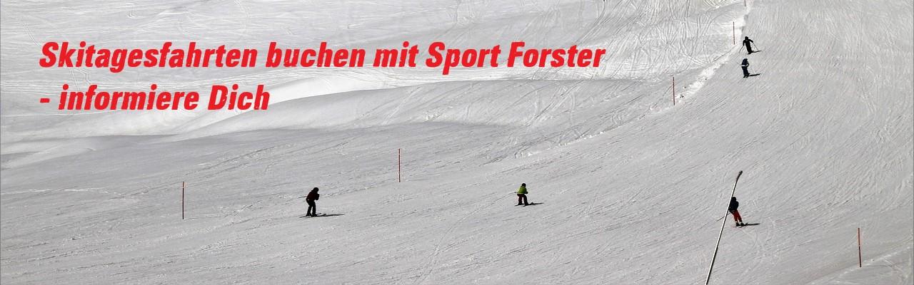 Skibusfahrten mit INTERSPORT Forster